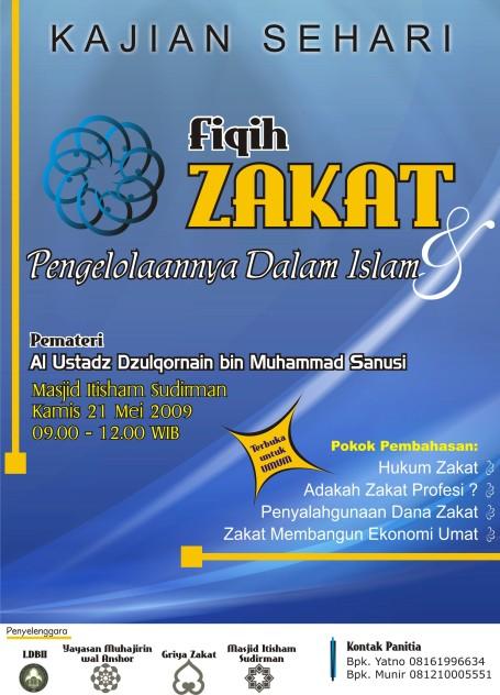 Poster Dauroh 21 Mei 2009